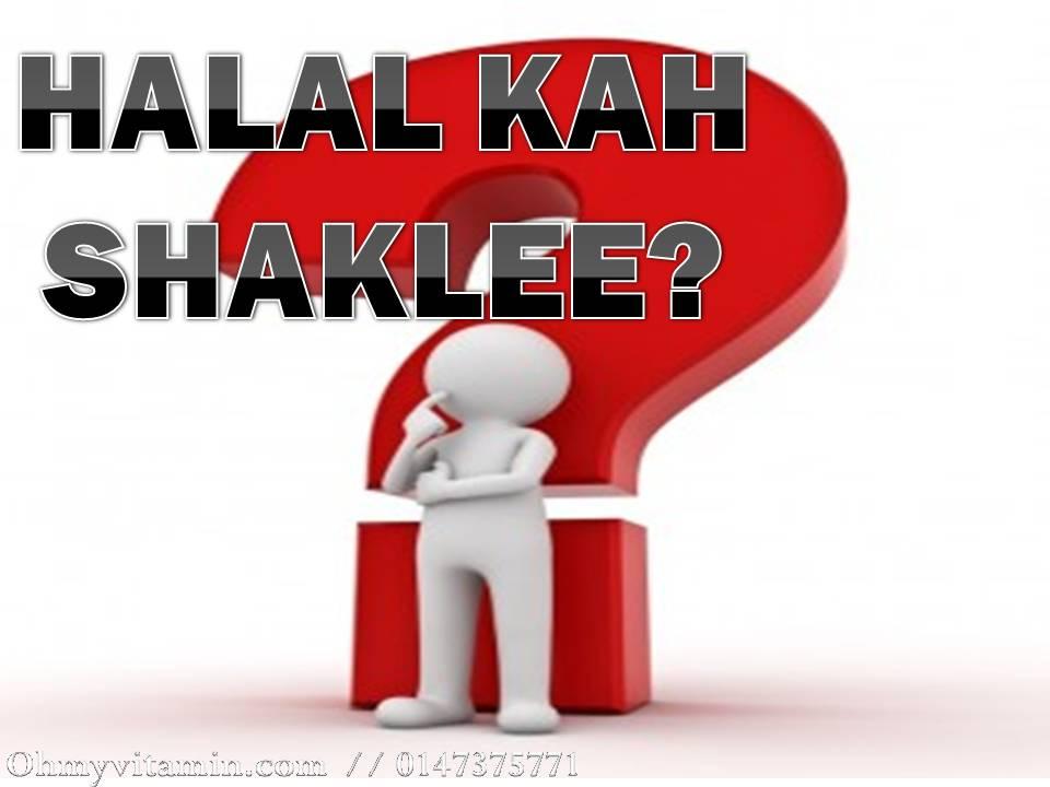 SIJIL HALAL SHAKLEE 2017 DAN NOMBOR KELULUSAN KKM SHAKLEE