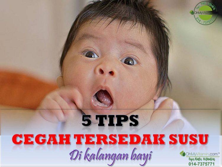 5 TIPS CEGAH TERSEDAK SUSU DI KALANGAN BAYI
