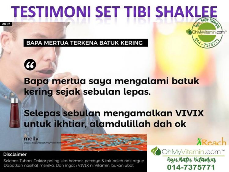TESTIMONI SET RAWATAN PENYAKIT TIBI SHAKLEE 1
