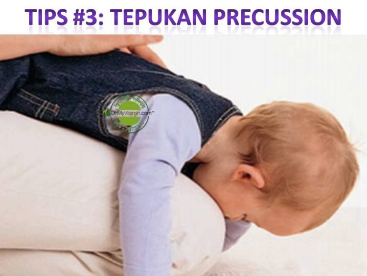 tips keluarkan kahak bayi dan kanak-kanak 3