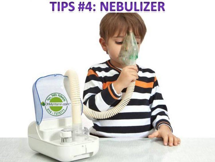 tips keluarkan kahak bayi dan kanak-kanak 4