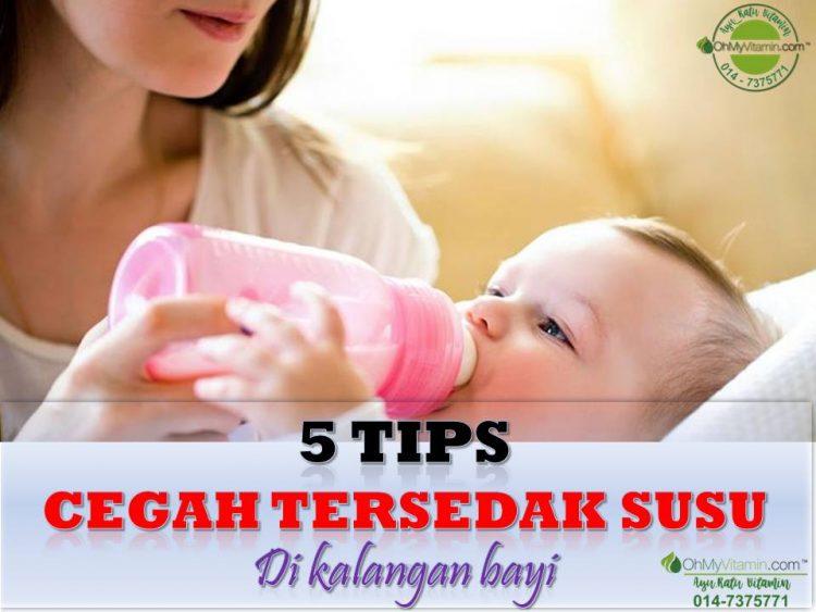 5 TIPS CEGAH TERSEDAK SUSU DI KALANGAN BAYI - SUSU BOTOL