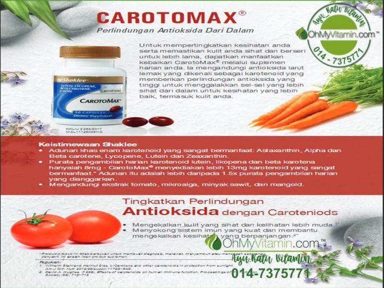 CarotoMax ® PERLINDUNGAN ANTIOKSIDAN DARI DALAM