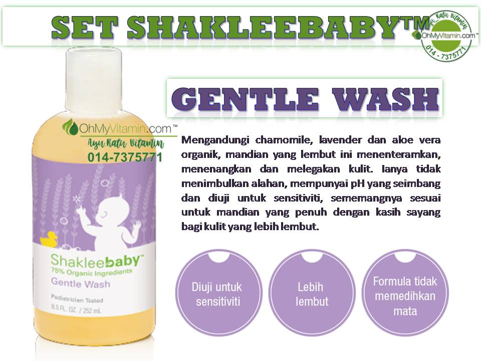 GENTLE WASH SET SHAKLEEBABY™