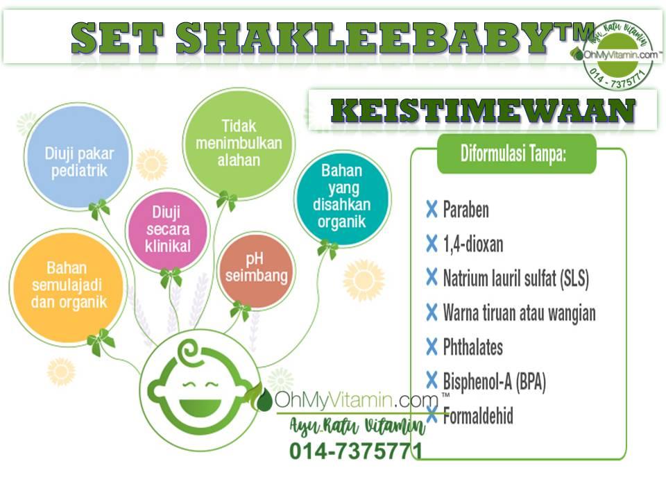 KEISTIMEWAAN SET SHAKLEEBABY™