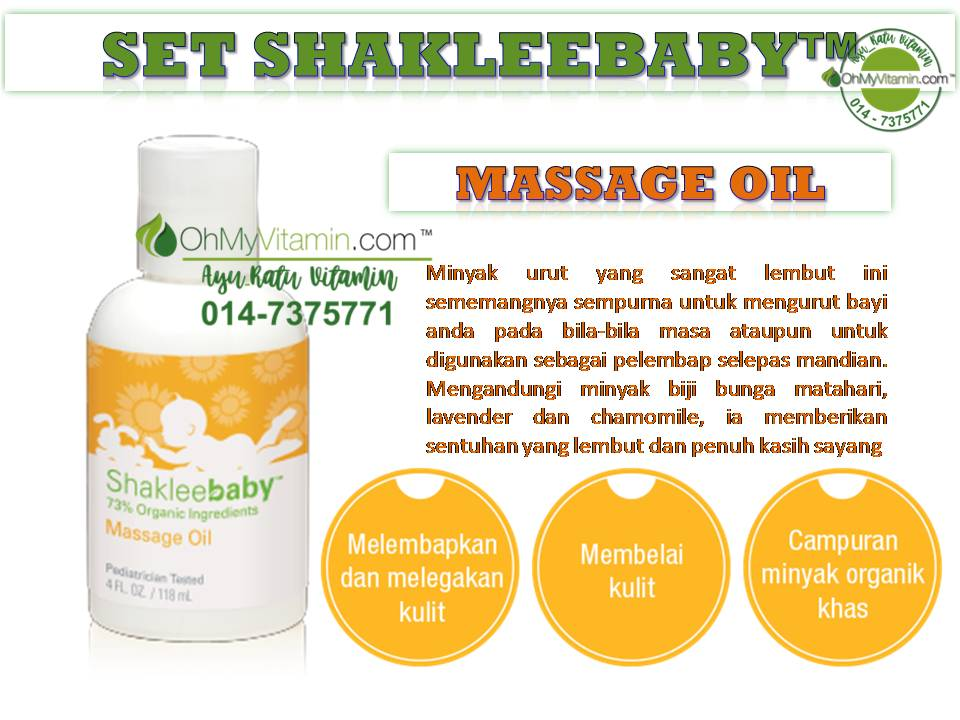 MASSAGE OIL SET SHAKLEEBABY™