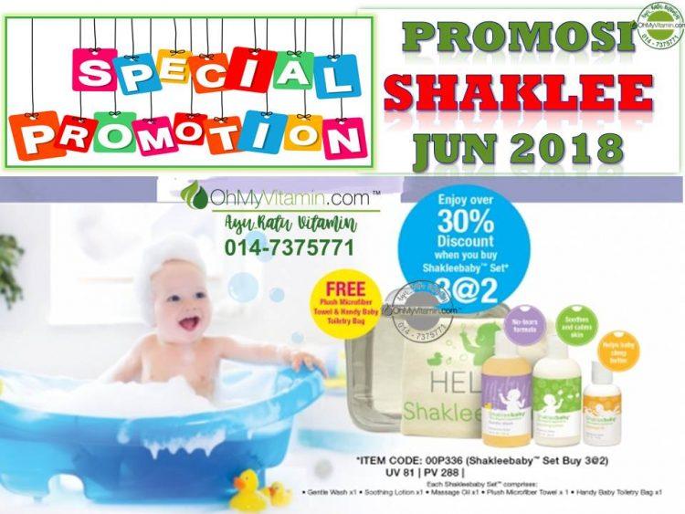 SHAKLEEBABY SET PROMOSI SHAKLEE JUN 2018