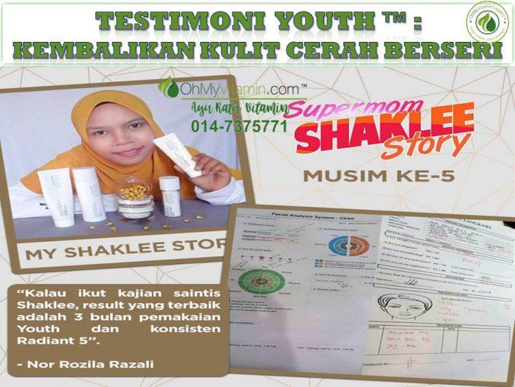 TESTIMONI YOUTH KEMBALIKAN KULIT CERAH BERSERI 1