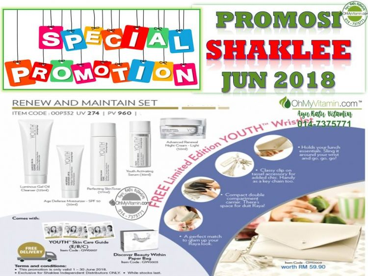 YOUTH PROMOSI SHAKLEE JUN 2018