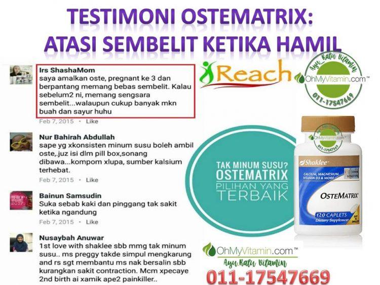 TESTIMONI OSTEMATRIX ATASI SEMBELIT KETIKA HAMIL 1