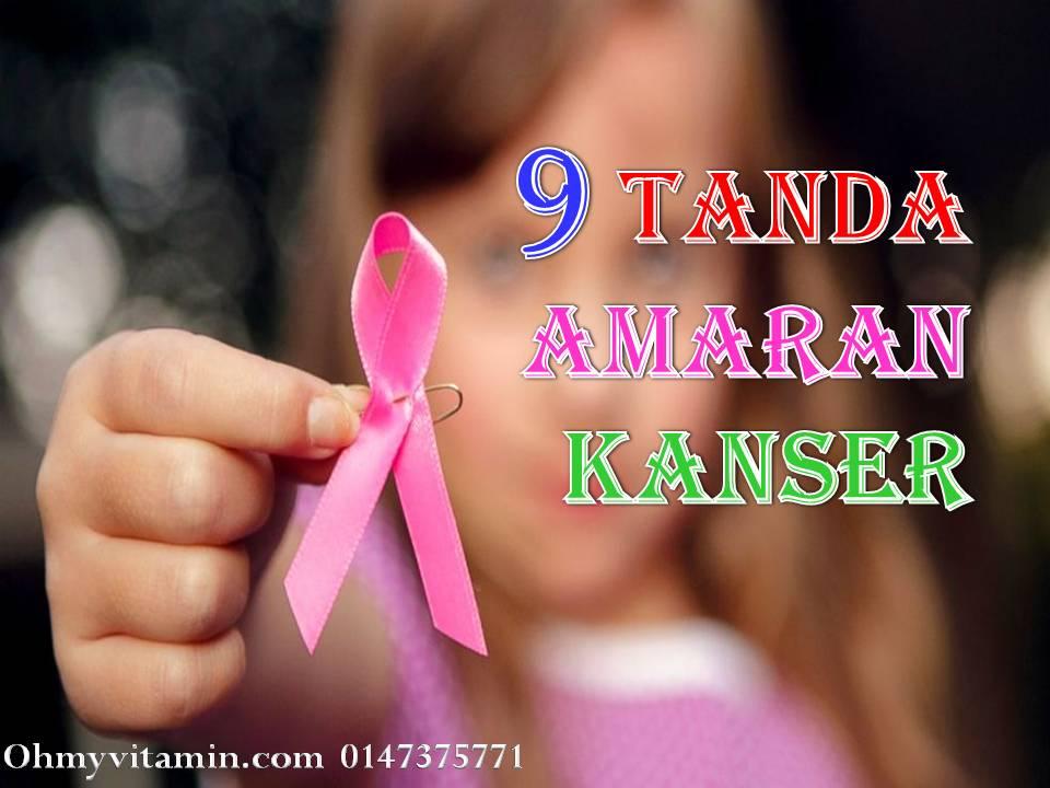 9 TANDA AMARAN KANSER YANG SERING DI PANDANG REMEH TAPI SEBENARNYA….