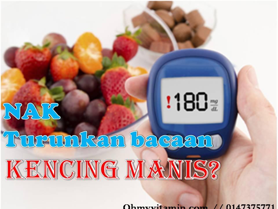 MAKANAN TAMBAHAN UNTUK BANTU TURUNKAN BACAAN GULA DALAM DARAH PESAKIT KENCING MANIS / DIABETES