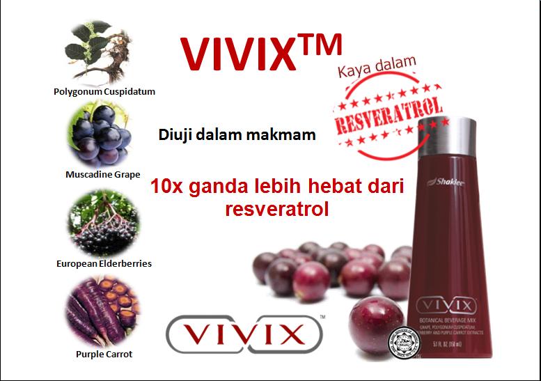 4 ramuan utama dalam vivix shaklee