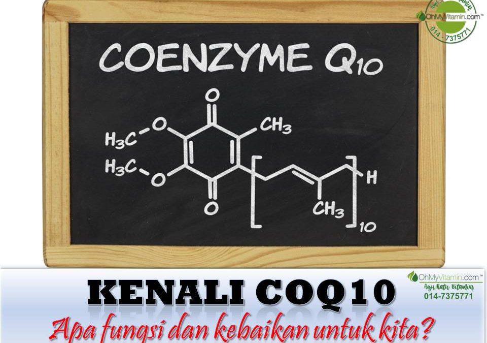 KENALI COQ10, SUMBER & MANFAAT COQ10 UNTUK BADAN