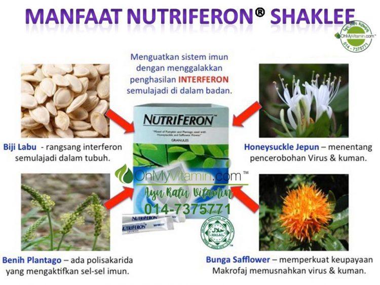 MANFAAT NUTRIFERON ® SHAKLEE