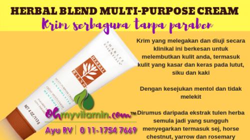 HERBAL BLEND MULTI-PURPOSE CREAM