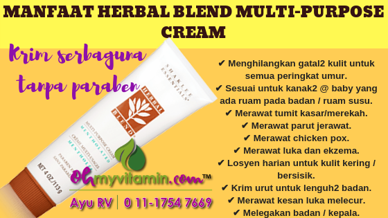 MANFAAT HERBAL BLEND MULTI-PURPOSE CREAM