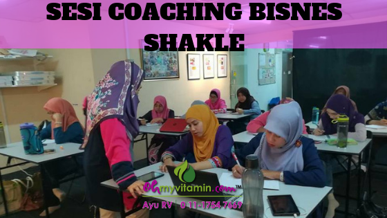 SESI COACHING BISNES SHAKLEE
