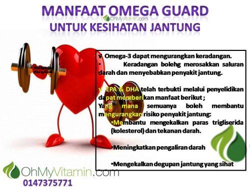 MANFAAT OMEGA GUARD untuk kesihatan jantung