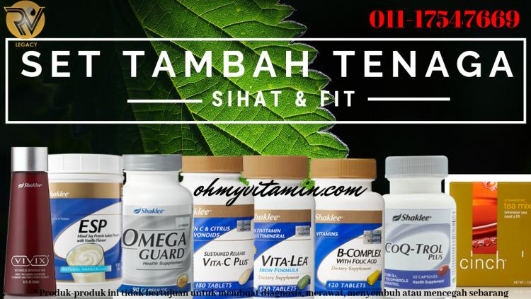 SET SUPLEMEN TAMBAH TENAGA