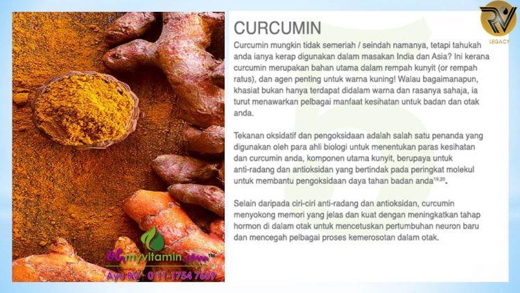 CURCUMIN ANTARA 11 MAKANAN UNTUK DETOX