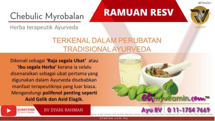 CHEBULIC MYROBALAN DALAM RESV
