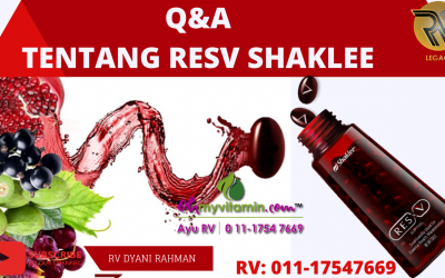 Q&A TENTANG RESV SHAKLEE