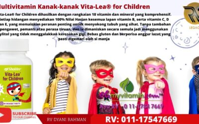 Multivitamin Kanak-kanak Vita-Lea® for Children